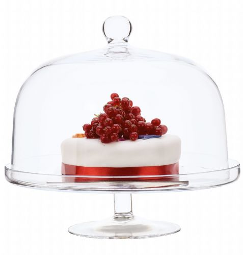 Cake Stand &  Dome 26cm